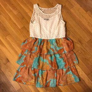Lace top beach dress XL